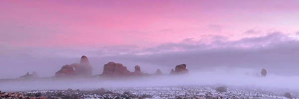 Utah Poster featuring the photograph Pink by Dustin LeFevre