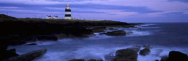 Cliff Poster featuring the photograph Hook Head Lighthouse, Co Wexford by The Irish Image Collection