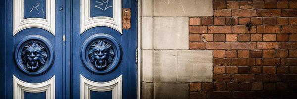 Doorway Poster featuring the photograph Manchester Doorway by Paul Jarrett