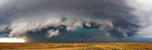 Supercell Poster featuring the photograph Stormy Horizon by James Menzies