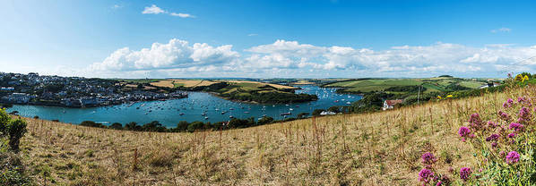 Salcombe Poster featuring the photograph Salcombe by Ollie Taylor