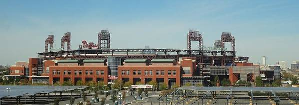 Philadelphia Phillies Poster featuring the photograph Go Phils by Michael Porchik
