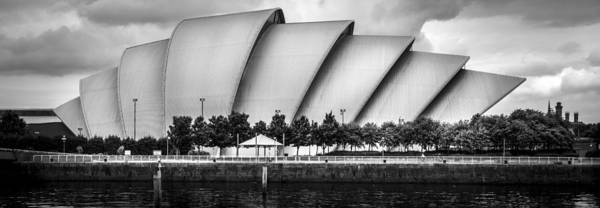 Glasgow Poster featuring the photograph Secc Glasgow by Alex Saunders