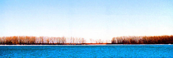 Landscape Poster featuring the photograph Leslie Spit From Cherry Beach 33 Dbae by Lyle Crump