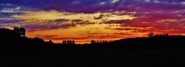 Landscape Poster featuring the photograph Evening Landscape by Greg Kear