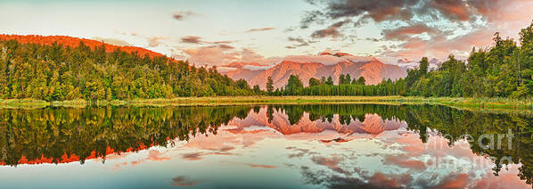 Matheson Poster featuring the photograph Matheson Lake by MotHaiBaPhoto Prints