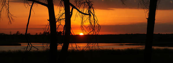 Sunset Poster featuring the photograph Magical Sunset by Erik Tanghe