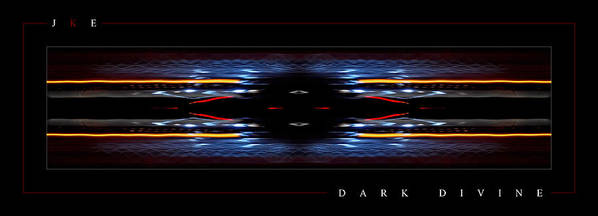 Abstract Poster featuring the photograph Dark Divine by Jonathan Ellis Keys