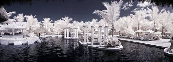 3scape Photos Poster featuring the photograph Infrared Pool by Adam Romanowicz