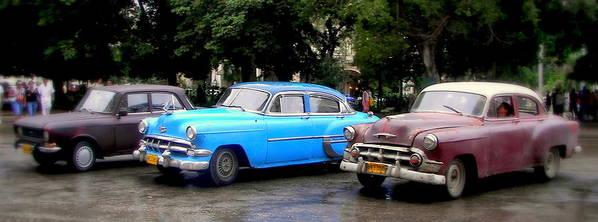 Cuba Poster featuring the photograph Nostalgia by Karen Wiles