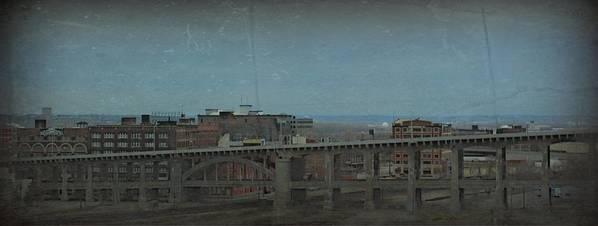 12th Poster featuring the photograph 12th Street Bridge Kansas City Missouri by Elizabeth Sullivan