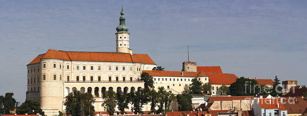 Mikulov Poster featuring the photograph Mikulov Castle by Michal Boubin