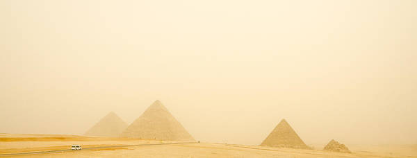 2010 Poster featuring the photograph The Pyramids by Vinicios De Moura