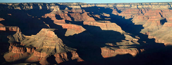 Grand Canyon Poster featuring the photograph Grand Canyon National Park At Sunset by Pierre Leclerc Photography