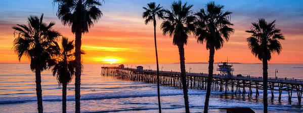 California Poster featuring the photograph San Clemente by Radek Hofman