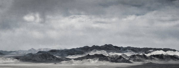 Nevada Poster featuring the photograph Nevada Mountains by Nancy Killam