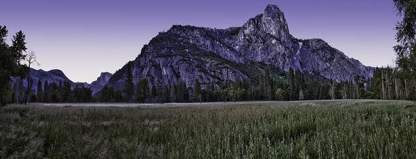 Yosemite Poster featuring the photograph Leidig Meadow by Nathaniel Kolby