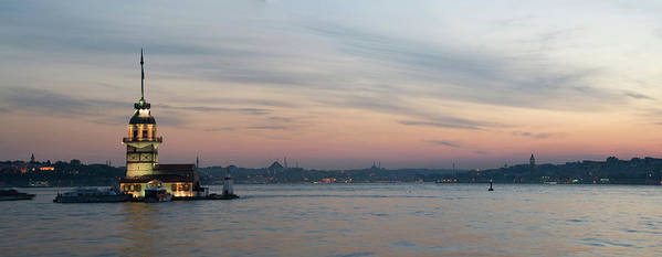 Panoramic Poster featuring the photograph Panoramic View Of Maiden Tower by Doruk Photography