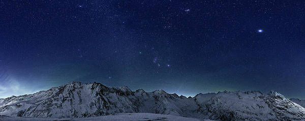 Horizontal Poster featuring the photograph Star Panorama by RICOWde
