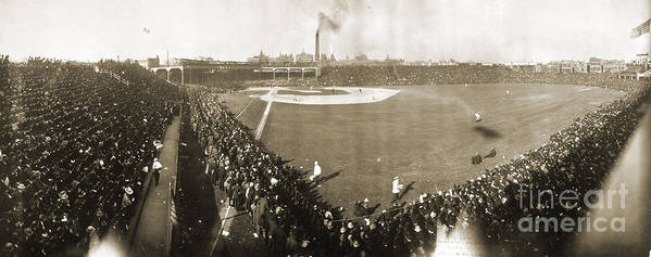 1906 Poster featuring the photograph World Series, 1906 by Granger