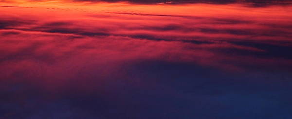 Sky Poster featuring the photograph Red Night Sky By Earl's Photography by Earl Eells a