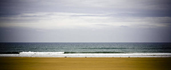 Seascape Poster featuring the photograph Seascape by Frank Tschakert