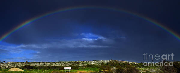 Architecture Poster featuring the photograph Rainbow by Stelios Kleanthous