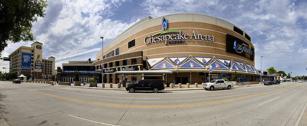 Chesapeake Poster featuring the photograph The Peake Panorama by Ricky Barnard