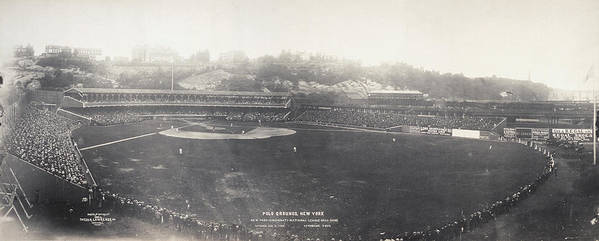 1904 Poster featuring the photograph Baseball Game, 1904 by Granger
