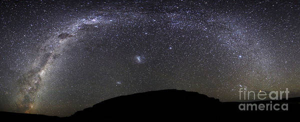 Argentina Poster featuring the photograph Panoramic View Of The Milky Way by Luis Argerich