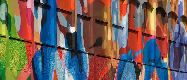 Art Poster featuring the photograph Alfresco Mural Bristol by Austin Brown