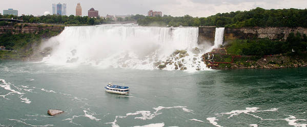 3scape Poster featuring the photograph American Falls by Adam Romanowicz