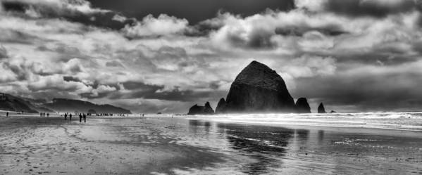 Cannon Beach Poster featuring the photograph Cannon Beach On The Oregon Coast by David Patterson