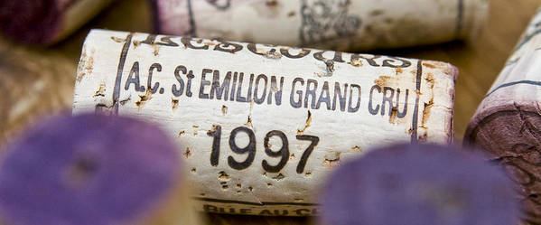 St Emilion Poster featuring the photograph St Emilion Grand Cru by Frank Tschakert