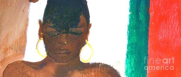 Impressionism Poster featuring the painting Self Portrait by Sandra Richardson