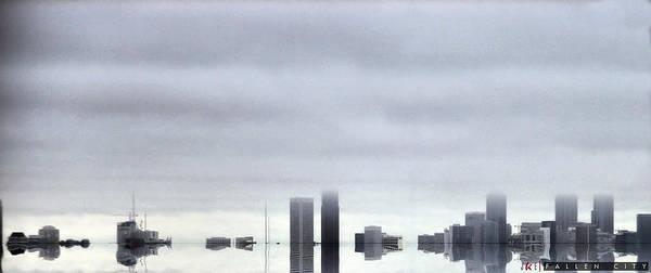 Fallen City Poster featuring the photograph Fallen City by Jonathan Ellis Keys