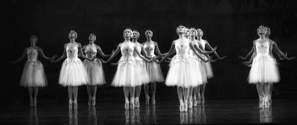 Dance Poster featuring the photograph All In A Row by Kenneth Mucke