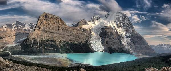 Berg Lake Poster featuring the photograph Berg Lake, Mount Robson Provincial Park by Clarke Wiebe