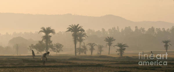 Landscape Poster featuring the photograph Jharkhand Early Morning by Angie Bechanan