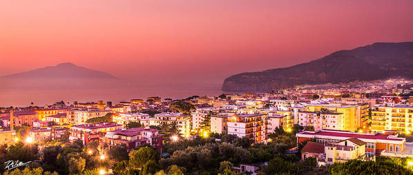 Landscape Poster featuring the photograph Sorrento Italy by Russell Wells