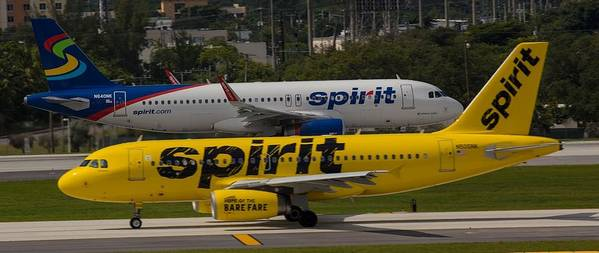 Airline Poster featuring the photograph Spirit Spirit by Dart and Suze Humeston