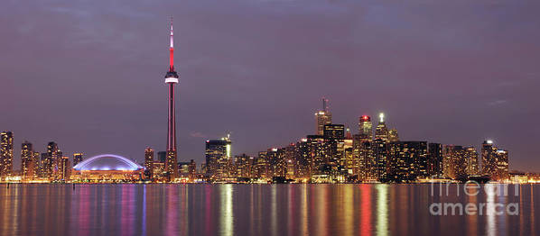Toronto Poster featuring the photograph The City Of Toronto by Oleksiy Maksymenko