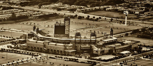 Sports Poster featuring the photograph Phillies Stadium - Citizens Bank Park by Bill Cannon