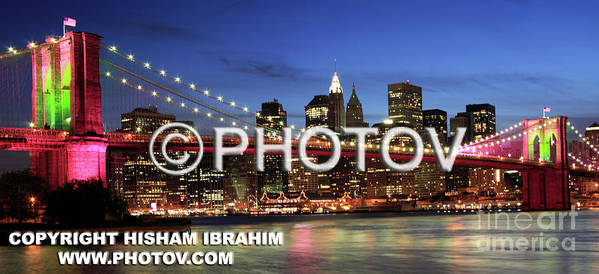 Usa Poster featuring the photograph I Love New York - Limited Edition by Hisham Ibrahim