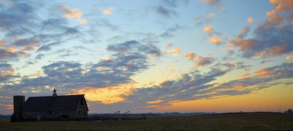Sunset Poster featuring the photograph Nightfall by Bonfire Photography