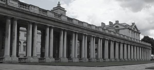 Columns Poster featuring the photograph Endless Columns by Anna Villarreal Garbis