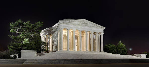 Metro Poster featuring the photograph Jefferson Memorial by Metro DC Photography