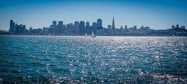 San Francisco Poster featuring the photograph San Francisco Skyline by Jayasimha Nuggehalli