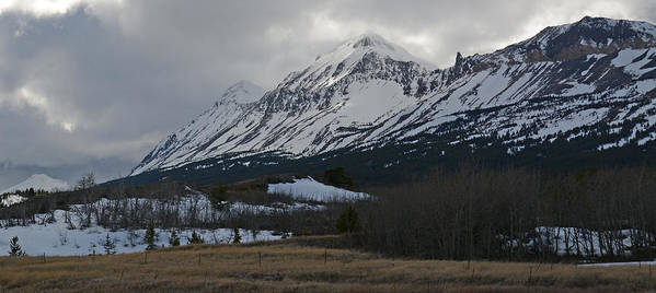 Storm Poster featuring the photograph Storm On The Rocky Mountain Front by Whispering Peaks Photography