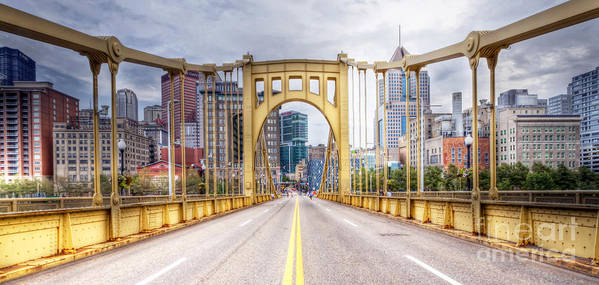 Pittsburgh Poster featuring the photograph 0305 Pittsburgh 10 by Steve Sturgill